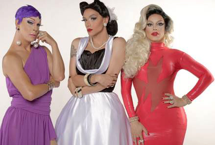 "E apresenta ""Drag me as a queen"" - E! apresenta ""Drag me as a queen"""