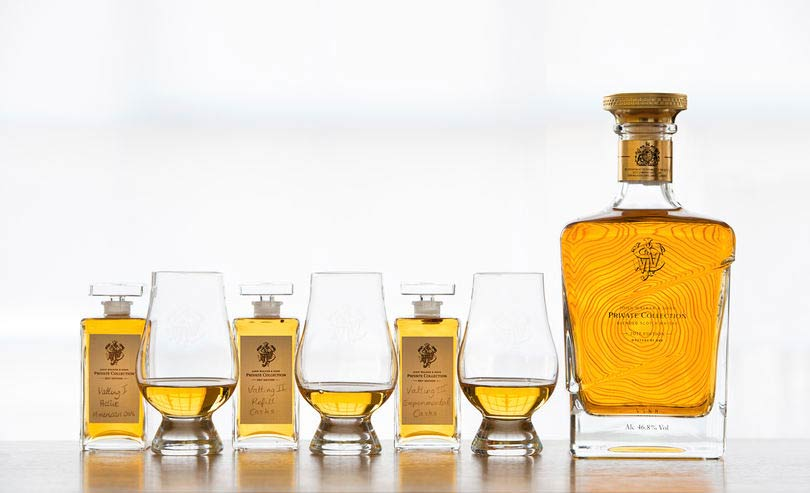 John Walker Sons Private Collection 2 - Johnnie Walker personalizado para presentear neste Natal
