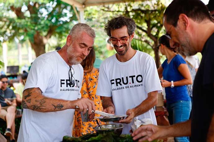 Alex Atala e Felipe Ribenboim 3 - Alex Atala e Felipe Ribenboim reúnem convidados na Fazenda Santa Julieta Bio