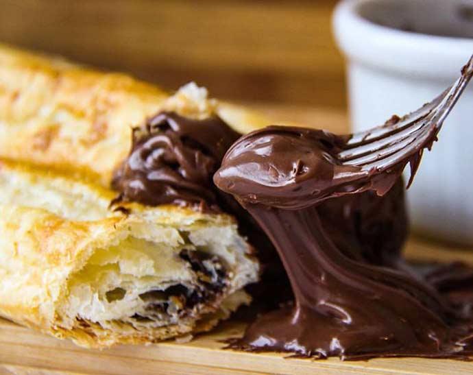 CHaruto de Nutella Barista - Sobremesas com chocolate em Curitiba