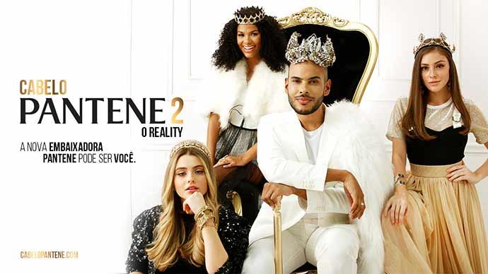 Cabelo Pantene  - Segunda temporada do reality show Cabelo Pantene
