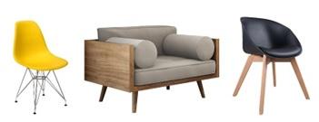 Cadeiras e poltronas Mobly - Cadeiras e poltronas dão um UP em qualquer espaço