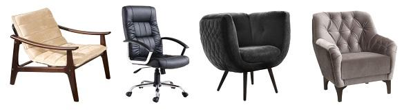 Cadeiras e poltronas Mobly3 - Cadeiras e poltronas dão um UP em qualquer espaço