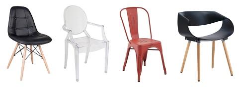 Cadeiras e poltronas Mobly4 - Cadeiras e poltronas dão um UP em qualquer espaço