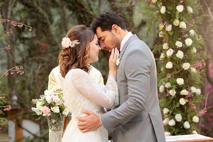 Casamento Cecilia e Gustavo Foto Lourival Ribeiro SBT 196 - O casamento de Cecília e Gustavo na novela Carinha de Anjo