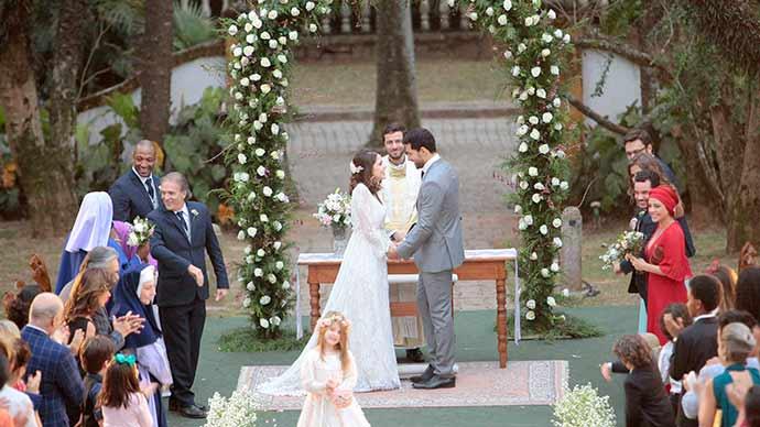 Casamento Cecilia e Gustavo Foto Lourival Ribeiro SBT 225 - O casamento de Cecília e Gustavo na novela Carinha de Anjo