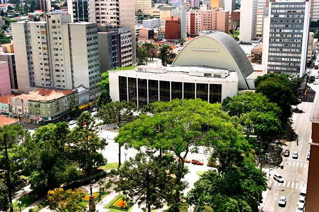 Centro Cultural Teatro Guaíra - Dez locais para curtir Curitiba durante a 35ª Oficina de Música