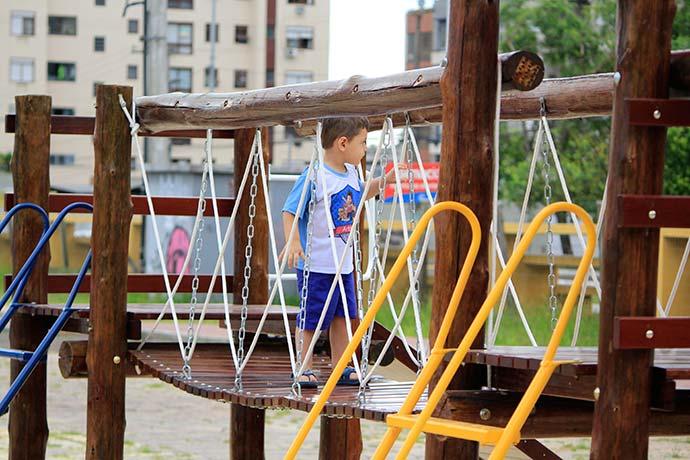Divulgação Largo Rui Porto 1 - Largo Rui Porto é opção de lazer em São Leopoldo