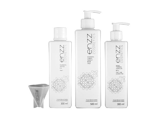Enzz - Reconstrução capilar Enzz Cosmetics