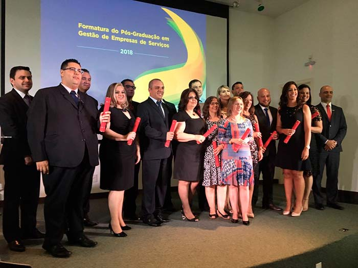 Formatura do Pós Graduação em Gestão das Empresas de Serviços - Formatura do Pós-Graduação em Gestão das Empresas de Serviços