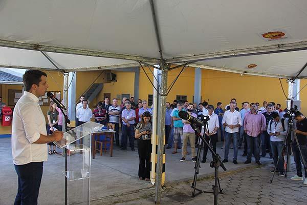 Gabinete Inauguração Subestação CELESC 30 01 18 Foto Ivan Rupp 40 - Inaugurada nova subestação da Celesc em Balneário Camboriú