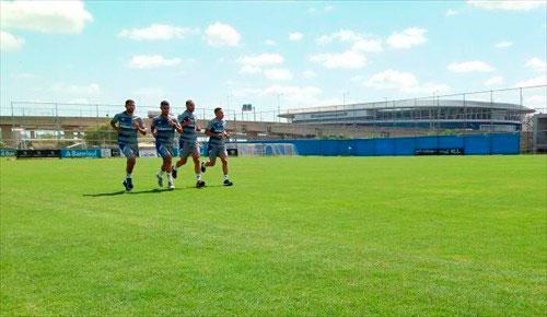Grêmio em semana de treinos em Porto Alegre