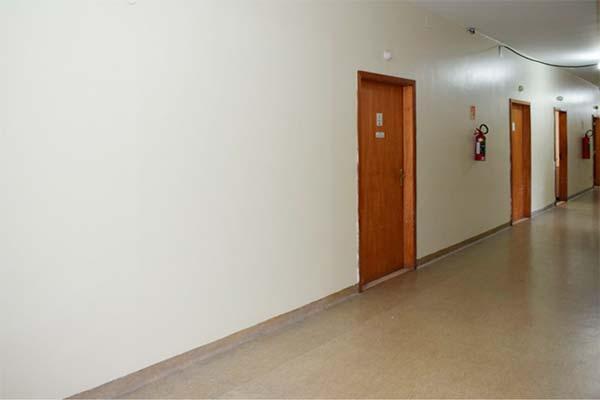 Melhorias já podem ser vistas no corredor da unidade