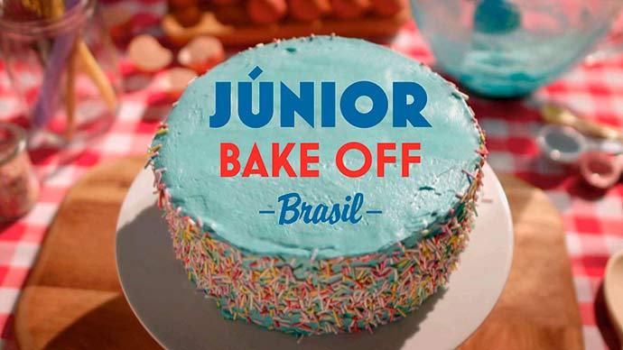 LOGO JUNIOR BAKEOFF BRASIL - Júnior Bake Off Brasil estreia dia 6 no SBT