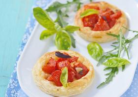 Mini Tortinhas de Tomate - Receitas light com tomate do Vigilantes do Peso