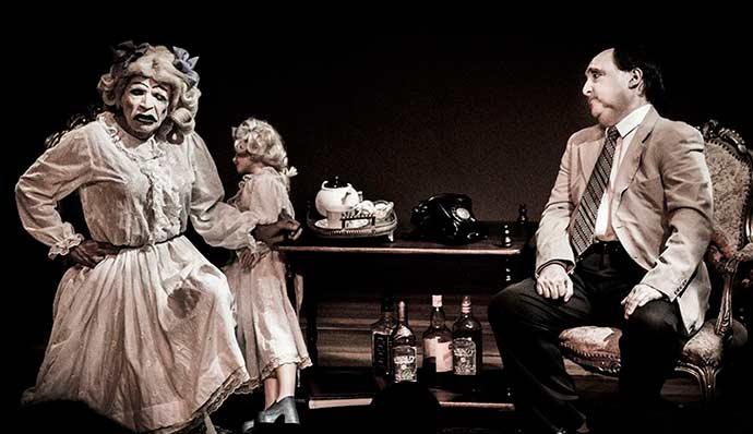 O que terá acontecido a Baby Jane Crédito Alisson Aguiar - Peça sobre Baby Jane no Teatro do Sesc em Porto Alegre