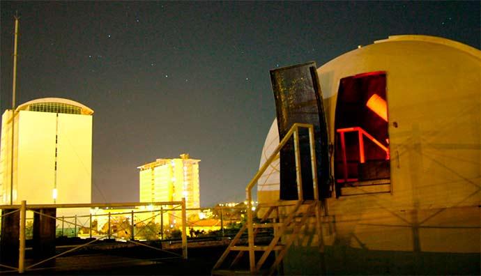 Observatório Astronômico da PUCRS - Observatório Astronômico da PUCRS promove atividade gratuita