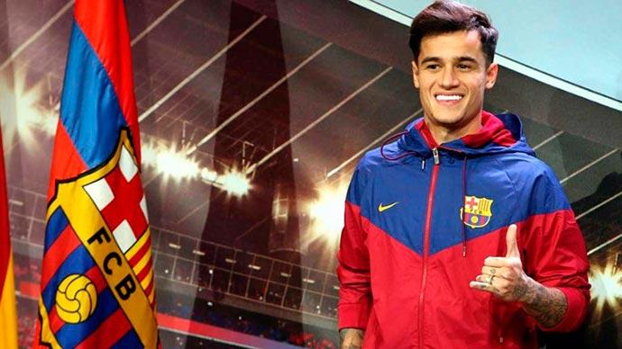 """Philippe Coutinho acerta com o Barcelona - Presidente do Barcelona: """"Assinamos com um dos melhores do mundo"""""""
