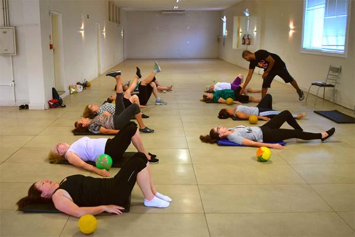 Pilates e ritmos são oferecidos na Sociedade Aliança - Programa Melhor Idade inicia atividades na Sociedade Aliança