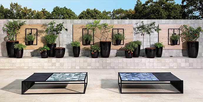 Portobello pbl amv magma rock bianca 145x145 ext bold design azul ver 43884 - Portobello destaca produtos ideais para piscinas