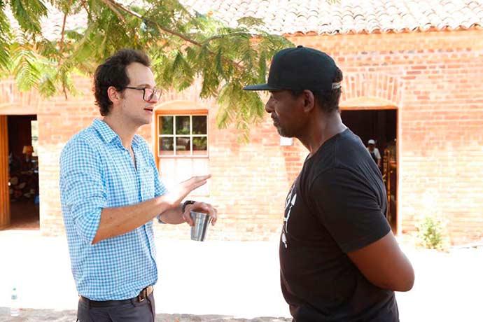 Rafael Coimbra e Ron Filey 1 - Alex Atala e Felipe Ribenboim reúnem convidados na Fazenda Santa Julieta Bio