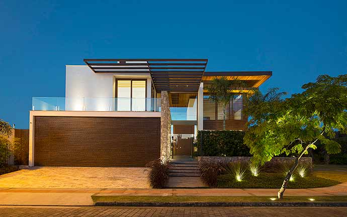 Ruschel Arquitetura - Ruschel Arquitetura assina projeto residencial em Jurerê Internacional