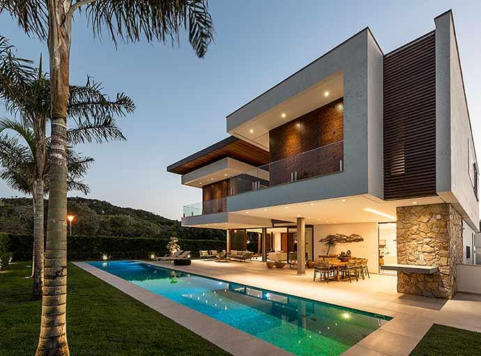 Ruschel Arquitetura1 - Ruschel Arquitetura assina projeto residencial em Jurerê Internacional