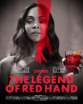 The legend of red hand - Lançamento do curta-metragem Campari Red Diaries 2018 – The Legend of Red Hand