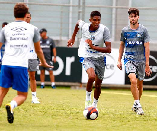 Treinamento do Grêmio em Janeiro - GRÊMIO SEGUE A PREPARAÇÃO PARA A TEMPORADA 2018