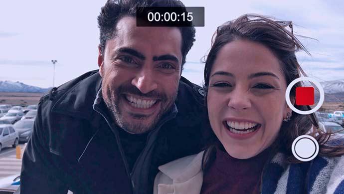 Vídeos de celular feitos por Gustavo durante a viagem com Cecília 02 - O casamento de Cecília e Gustavo na novela Carinha de Anjo