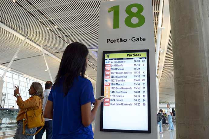 aeroportos - Pontualidade dos aeroportos na Operação Fim de Ano chega a 93%