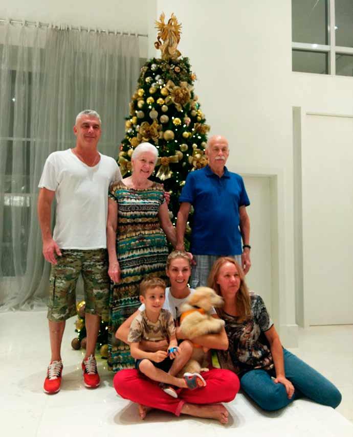ana hickmann familia - Ana Hickmann adota filhote que será treinado como cão-guia