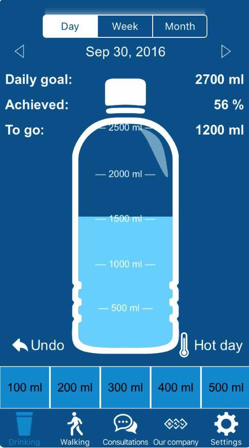 app agua - Aplicativo lembra de tomar água e das consultas médicas