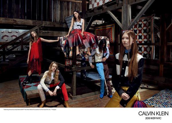 calvin klein 205w39nyc1 - Campanha coleção Primavera 2018 Calvin Klein 205W39NYC