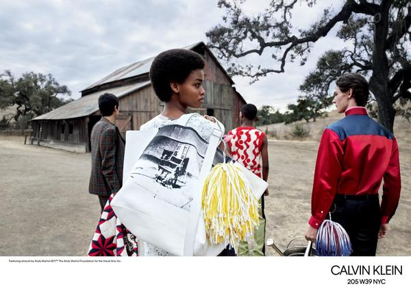calvin klein 205w39nyc17 - Campanha coleção Primavera 2018 Calvin Klein 205W39NYC
