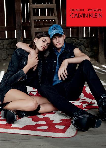 calvin klein campanha web  - Calvin Klein lança campanha com filhos de Cindy Crawford