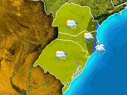 chuvas janeiro 18 - Chuvas voltam ao Rio Grande do Sul durante esta semana