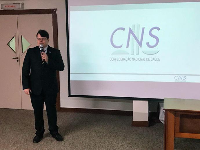 cns - CNS no XXII Congresso Nacional de Prevenção de Acidentes do Trabalho