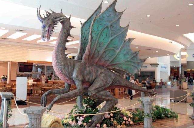 exposição dragões - Quatro shoppings de São Paulo oferecem atividades gratuitas para crianças