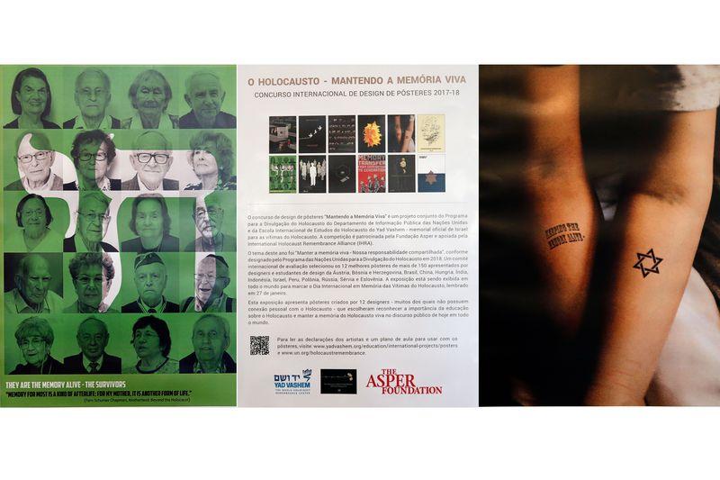 exposição holocausto - ONU inaugura exposição em memória às vítimas do Holocausto