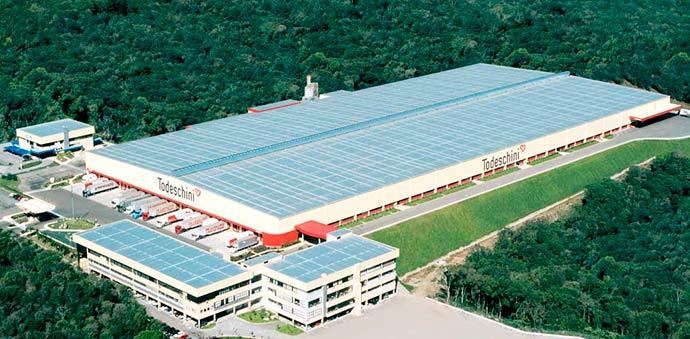 fabrica bento todeschini - Autorizada ampliação da Todeschini em Bento Gonçalves