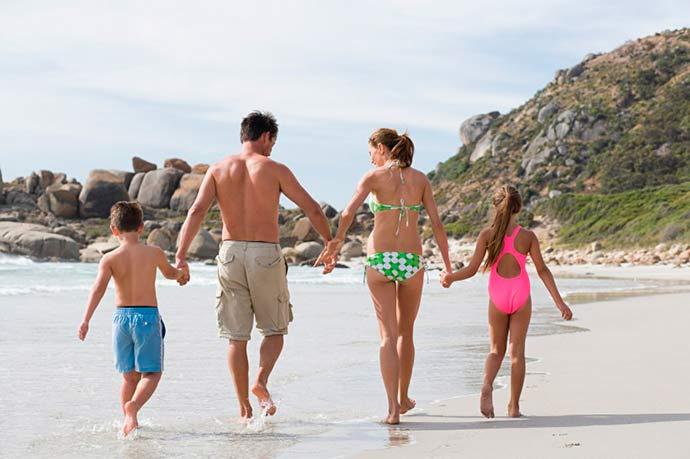 ferias praia - Aproveite as férias para fortalecer a relação com seus filhos