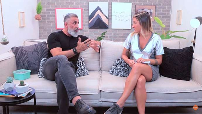 gabriela pugliesi e dr. mohamad barakat - Gabriela Pugliesi entrevista Dr. Mohamad Barakat
