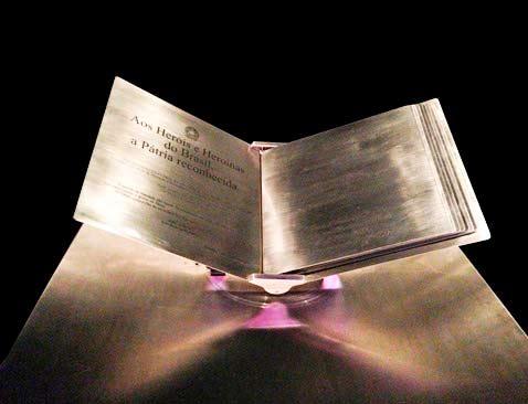 livro herois da patria - Visconde de São Leopoldo entra para o Livro de Heróis da Pátria