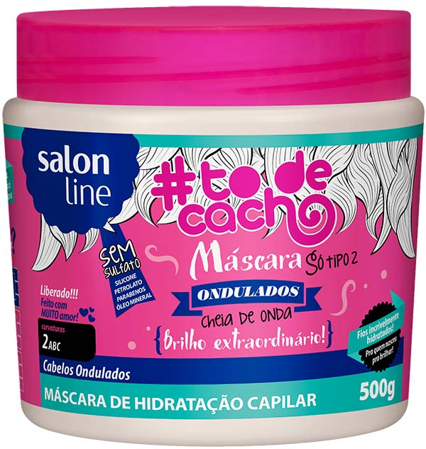 mascara cheia de onda - Cheia de Onda é novidade da linha #todecacho SalonLine