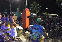 praça almirante tamandaré balneário camboriú sc - Grito de Carnaval animou Balneário Camboriú no fim de semana
