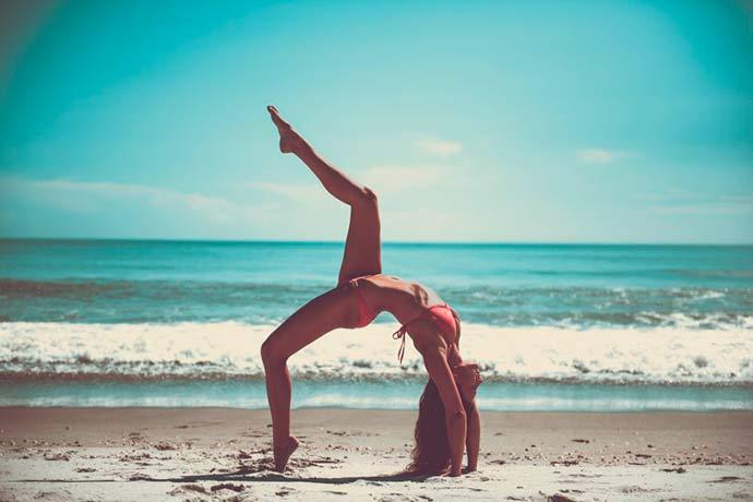 praia exercício - Aproveite as férias para se exercitar à beira mar