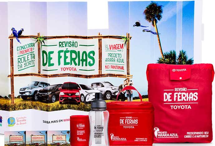 premios - Revisão de Férias Toyota premia clientes