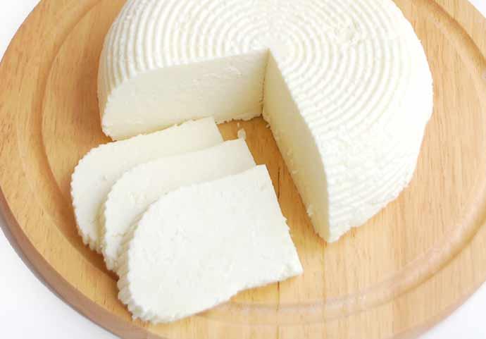 queijo branco - Queijos leves combinam com o verão