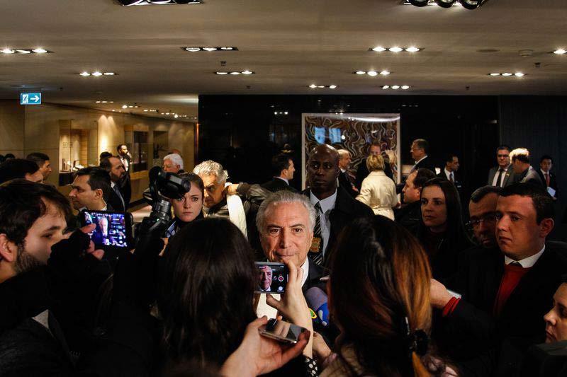 temer davos - Para Temer, julgamento de Lula não deve gerar instabilidade política